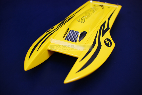 Brand New 2.4Ghz Small Bolt Brushless Racing RC Boat Yellow