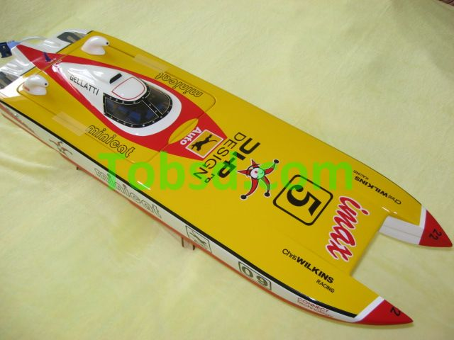 Clown Racing Boat ARTR 32