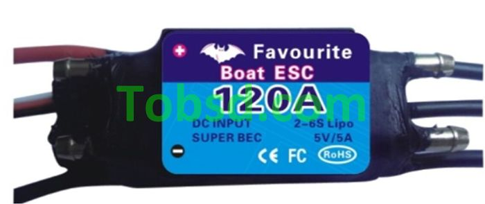 120A Brushless ESC FVT Shark Series 120A ESC Rc boat boats dedicated ESC