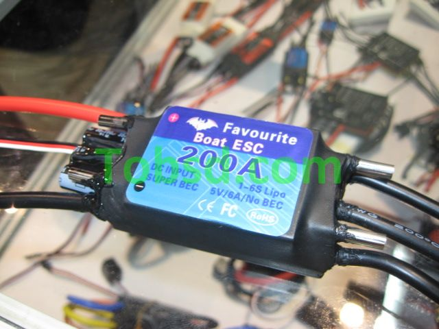 200A Brushless ESC FVT Shark Series 200A ESC Rc boat boats dedicated ESC