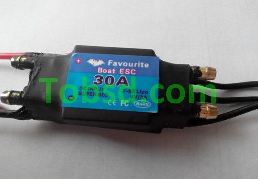 30A Brushless ESC FVT Shark Series 30A ESC Rc boat boats dedicated ESC