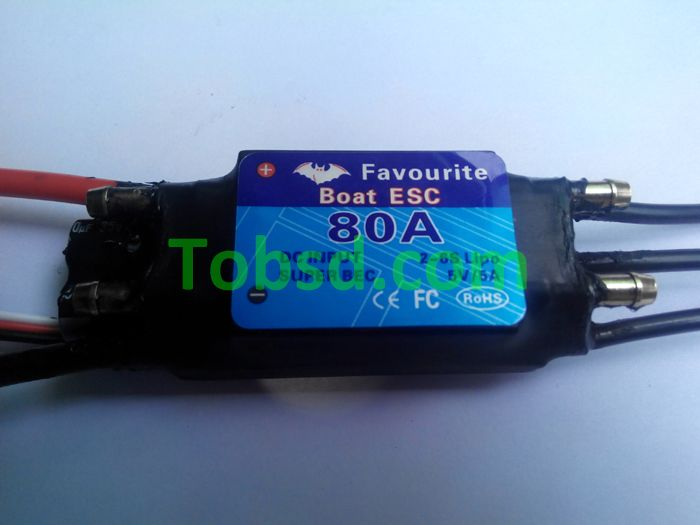 80A Brushless ESC FVT Shark Series 80A ESC Rc boat boats dedicated ESC