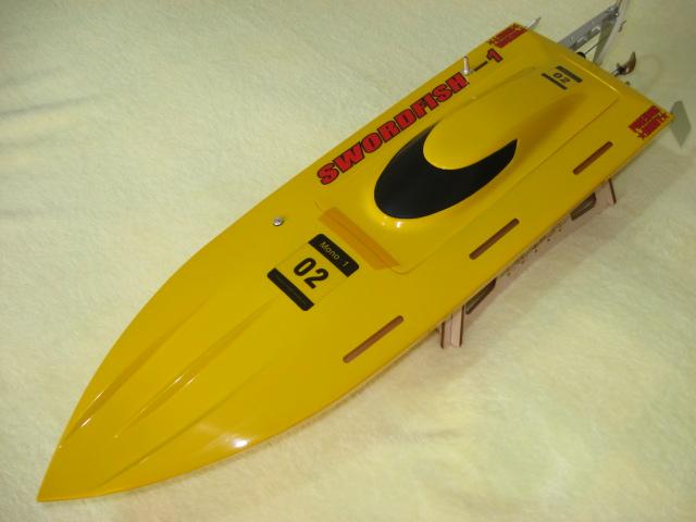27'' EP Fibreglass Mono1 ARTR Racing Boat