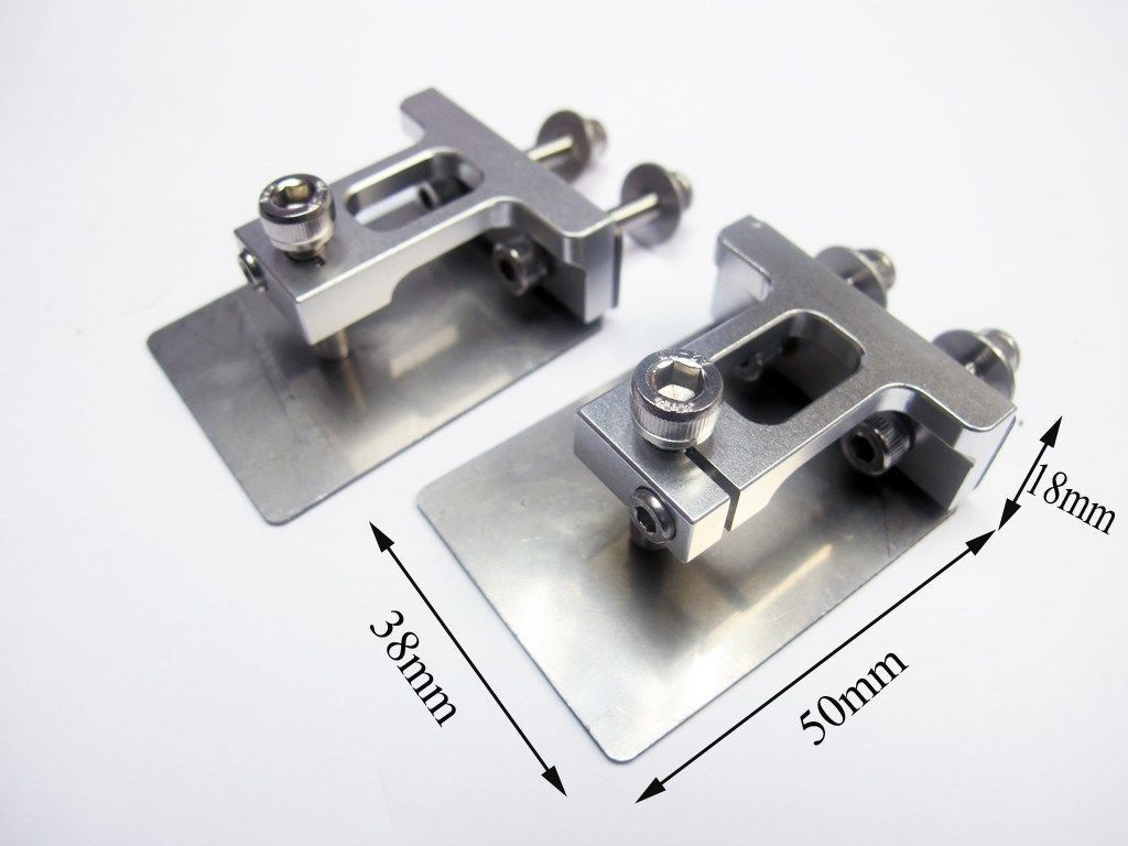 Easy Ajustable Aluminum Trim Tabs (One pair) RC boat