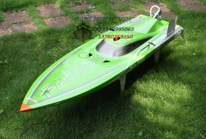 Patron Saint Gas Powered  RC Boat ARTR 30CC Zenorh Engine