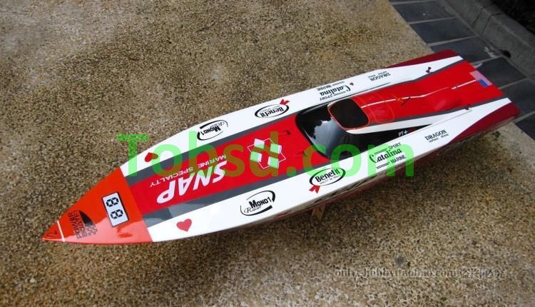 SNAP Gas Powered RC High Speed Boat 1400GP(A)-ARTR 26CC