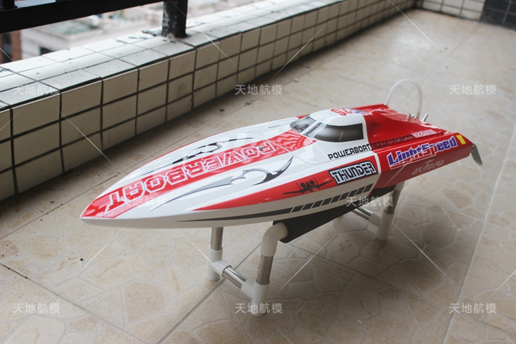 Thunder Mono1 Fiber Glass Resin Boat ARTR Rc Boat