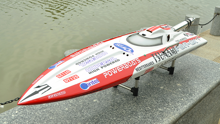 Tsunami Gas Powered RC Boat ARTR 30CC