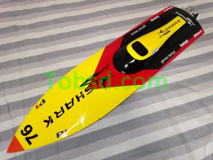 92cm Dragon Hobby SHARK Fiberglass Brushless RC Racing Boat
