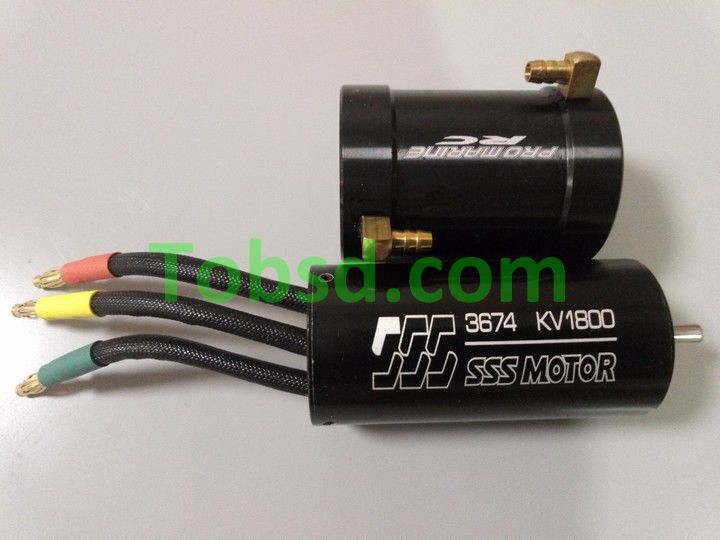 540size BL3674 brushless motor Come with Water Cool