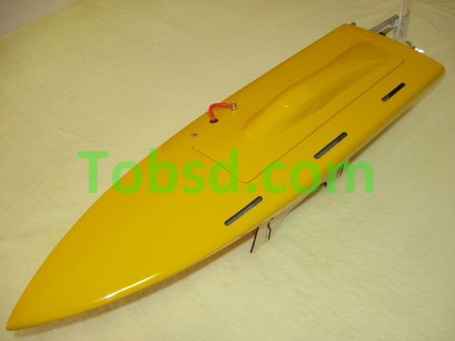 Mono1 Fiber Glass Resin Dagger Rc Boat ARTR