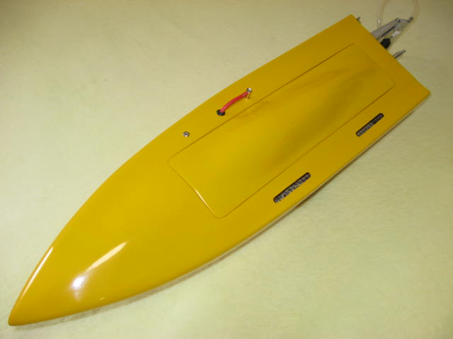 Yellow Mono1 Fiber Glass Resin M5 Rc Boat Kit
