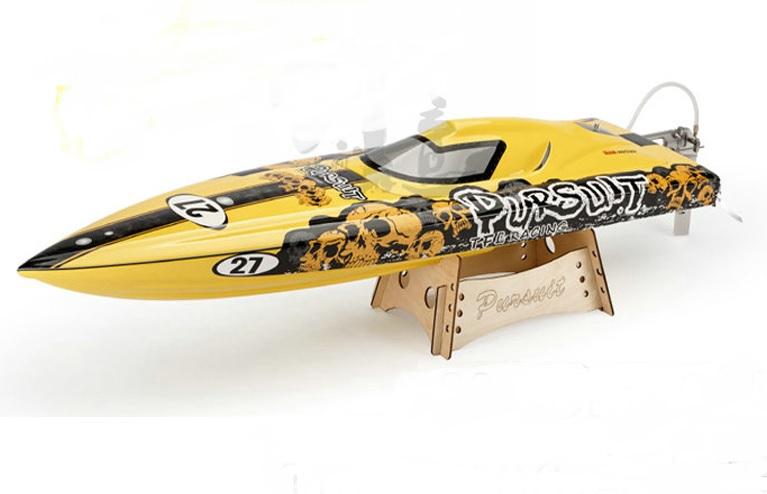 34 inches CrossBones ARTR EP Fibreglass Mono 2 Racing Rc Boat