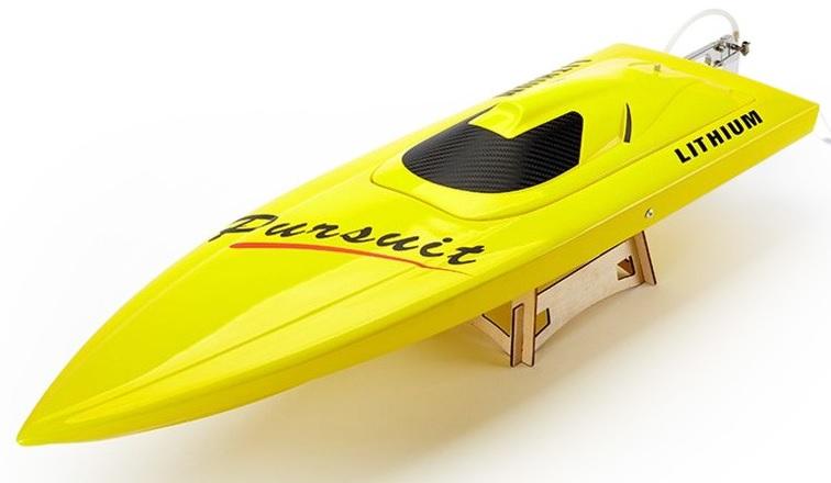 34 inches Yellow ARTR EP Fibreglass Mono 2 Deep-vee Racing Rc Boat